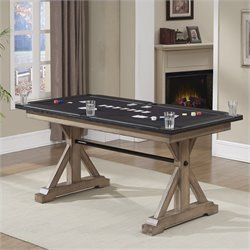 American Heritage Billiards Bandit Poker Table in Glacier