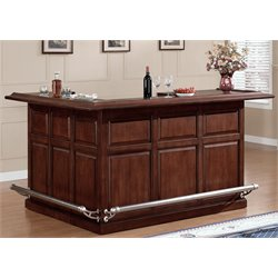 American Heritage Billiards Catania Right Return Home Bar in Cherry