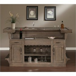 American Heritage Billiards Caliente Home Bar in Glacier