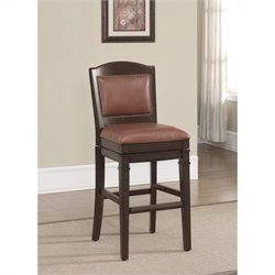 American Heritage Billiards Artesian Bar Stool in Navajo and Crimson