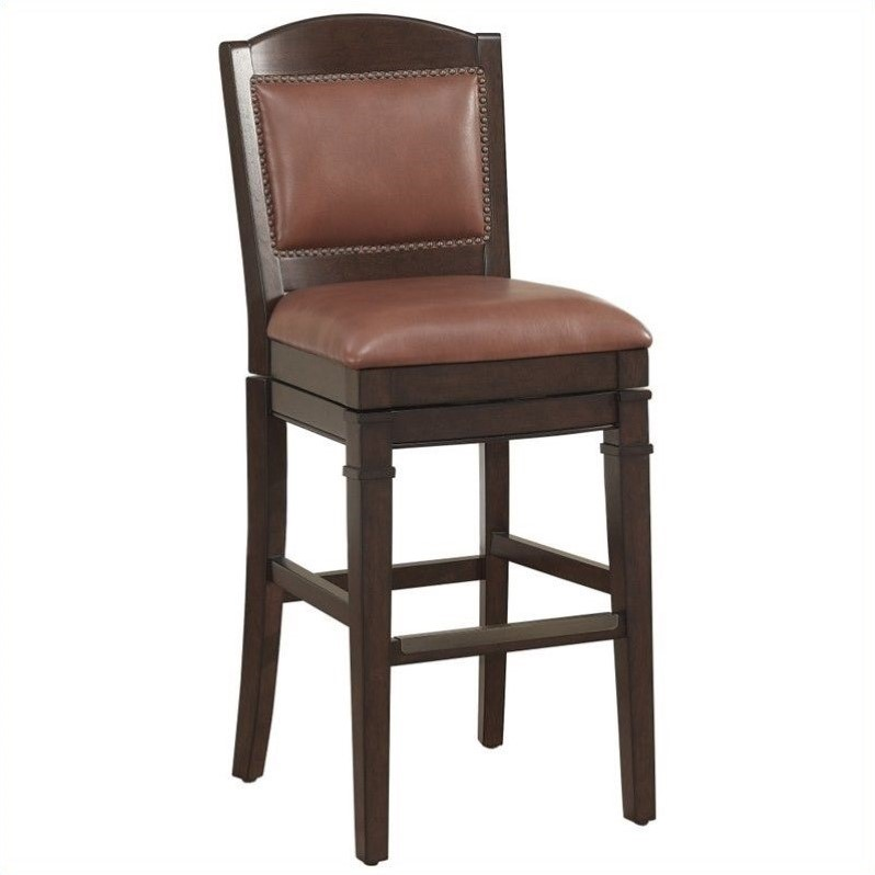 American Heritage Artesian 26 Quot Counter Stool In Cherry And