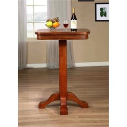 American Heritage Billiards Sarsetta Pub Table in  Vintage Oak