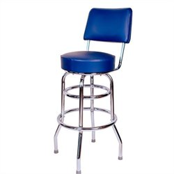 Retro 1950s Armless Barstool Finish