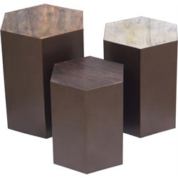 Renwil Giant's Causeway 3 Piece Accent Table Set