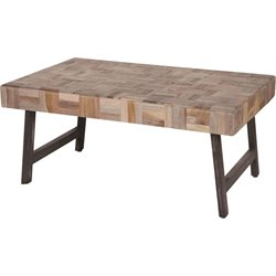 Renwil Kent Coffee Table in Brown and Black