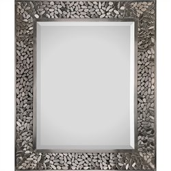 Renwil Lexi Mirror in Satin Nickel