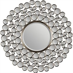 Renwil Andromeda Mirror in Satin Nickel