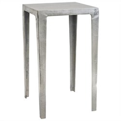 Renwil Sachie I Decorative Accent Table in Raw Nickel