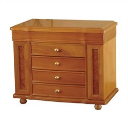 Mele and Co. Josephine Jewelry Box in Oak