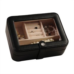 Mele and Co. Rio Jewelry Box in Black