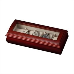 Mele and Co. Emery Watch Box in Cherry