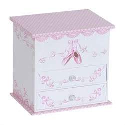 Mele and Co. Angel Girl's Musical Ballerina Jewelry Box
