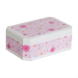 Mele and Co. Hayley Girl's Glittery Musical Ballerina Jewelry Box