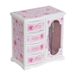 Mele and Co. Hyacinth Girl's Upright Musical Ballerina Jewelry Box