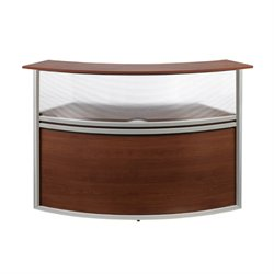 Marque Plexi Add-On Unit Reception Desk