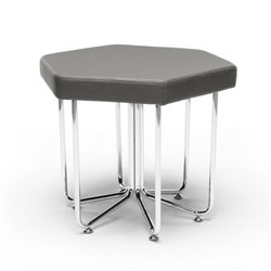 Hex Series Reception Stool