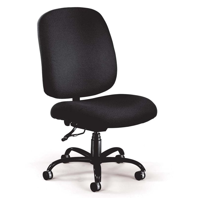 Big and Tall Office Chair in Black