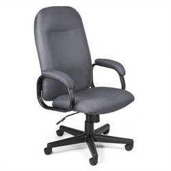 Hi-Back Executive Office Chair Gray