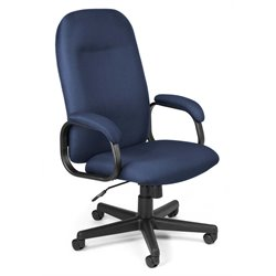 Hi-Back Executive Office Chair in Navy