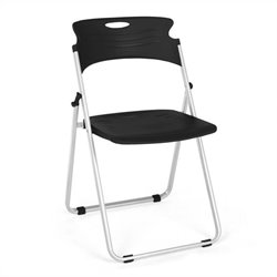 Folding Chair That Folds in Black