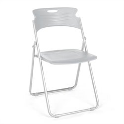 Folding Chair That Folds in Dove Gray