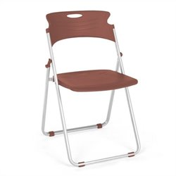 Folding Chair That Folds in Chocolate