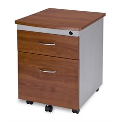 Mobile Pedestal File Box in Cherry