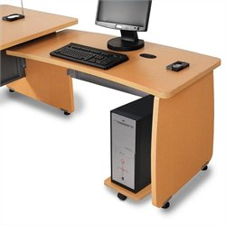 Return For Executive Desk in Maple