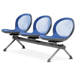Beam Guest Chair With 3 Seats in Marine