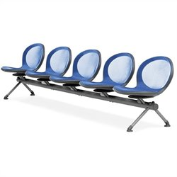 Beam Guest Chair With 5 Seats in Marine