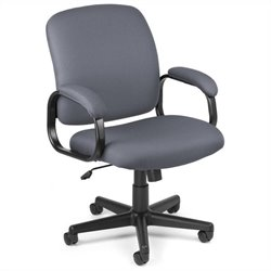 Executive Low-back Task Office Chair in Gray
