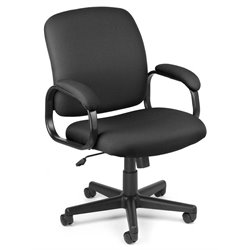 Executive Low-back Task Office Chair in Black