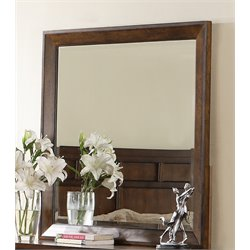 Samuel Lawrence Bayfield Landscape Mirror in Brown