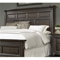 Samuel Lawrence Grand Manor Panel Headboard in Brown-C