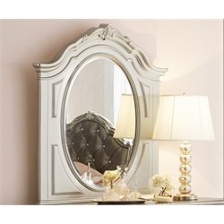 Samuel Lawrence Sterling Landscape Mirror in Silver