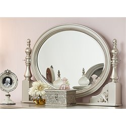 Samuel Lawrence Sterling Vanity Mirror in Silver