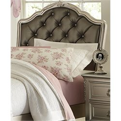 Samuel Lawrence Sterling Upholstered Headboard in Silver-E