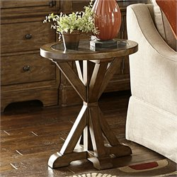 Samuel Lawrence American Attitude Chairside Accent Table