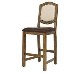 Samuel Lawrence American Attitude Wood Bar Stool