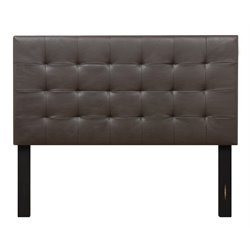Samuel Lawrence Maverick Upholstered Panel Headboard in Brown-J