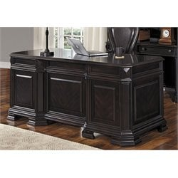 Samuel Lawrence Lexington Executive Desk in Black