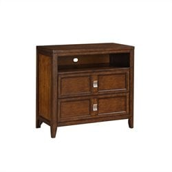 Samuel Lawrence Bayfield Media Chest in Medium Brown
