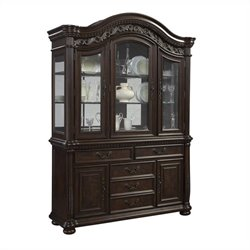 Samuel Lawrence San Marino China Cabinet in Dark Brown