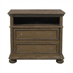 Samuel Lawrence Furniture Paxton TV Stand in Medium Wood