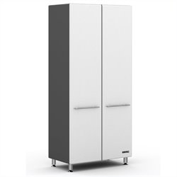 Ulti-MATE Storage Tall 2-Door Cabinet in Starfire White