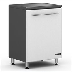 Ulti-MATE Storage 1-Door Base Cabinet in Starfire White