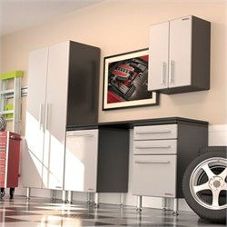 Ulti-MATE Garage Pro 5 Piece Garage Cabinet Kit