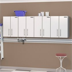 Ulti-MATE Storage 4 Piece Wall Cabinet Kit in Starfire White