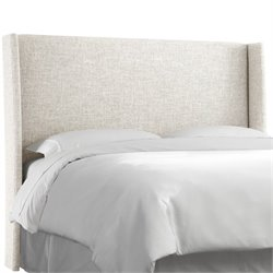 Skyline Wingback Headboard in White-89