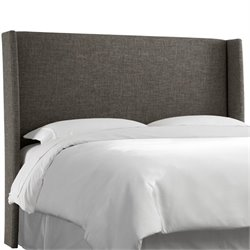 Skyline Wingback Headboard in Charcoal-92